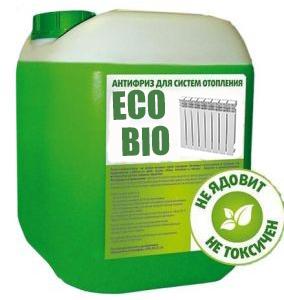 Теплоноситель для систем отопления Eco BioTherm -22°С  28кг