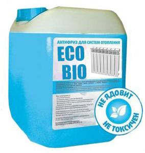 Теплоноситель для систем отопления Eco BioTherm -15°С  30кг
